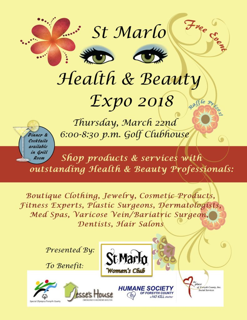 Health & Beauty Expo 2018 @ St Marlo Golf Clubhouse | Duluth | Georgia | United States