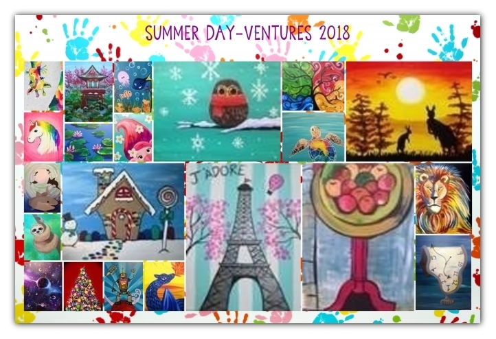 Summer Day-Ventures at Pinot's Palette