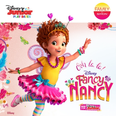 Fancy Nancy-themed Disney Junior Play Date on Saturday, August 18
