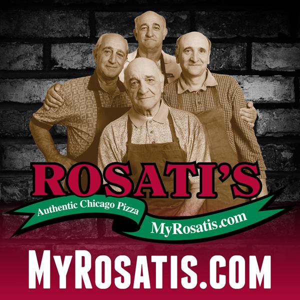 Flavors by Julie: Rosati's Authentic Chicago Pizza