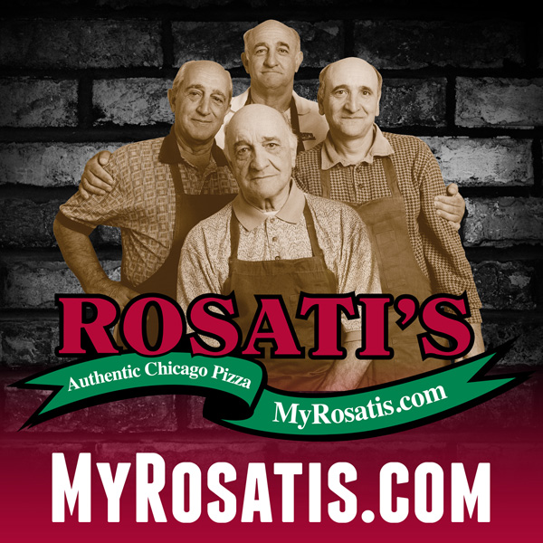 Flavors by Julie: Rosati's Authentic Chicago Pizza