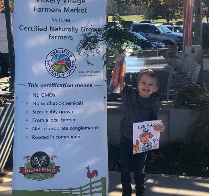 Updated Information: Thursdays Farmers Market at Vickery Village