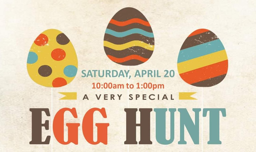 Egg hunt for special needs families