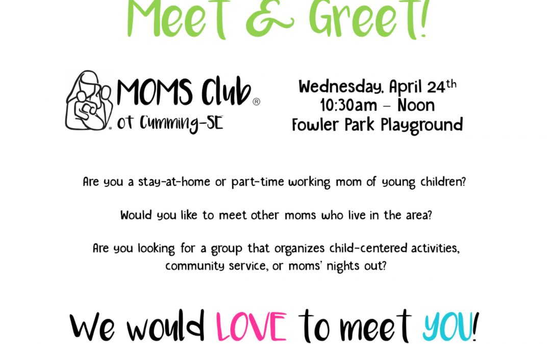 Park Day Meet & Greet