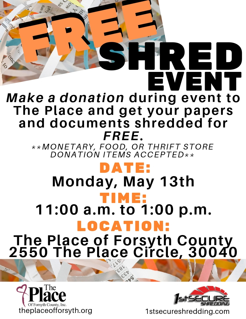 FREE Shred Event - Cumming Local