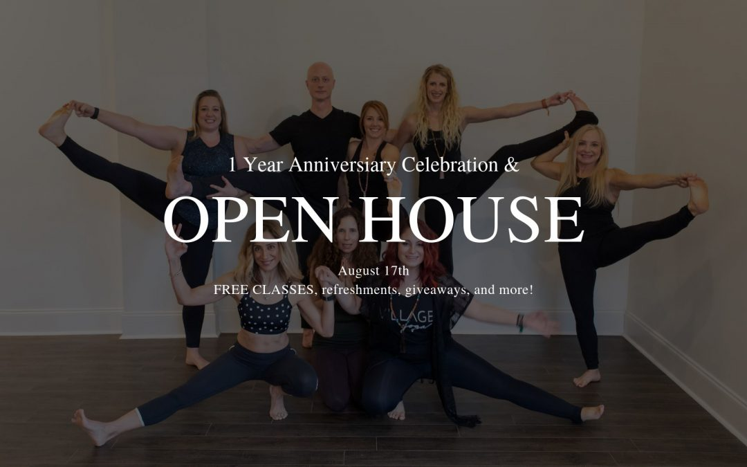 1 Year Celebration and Open House