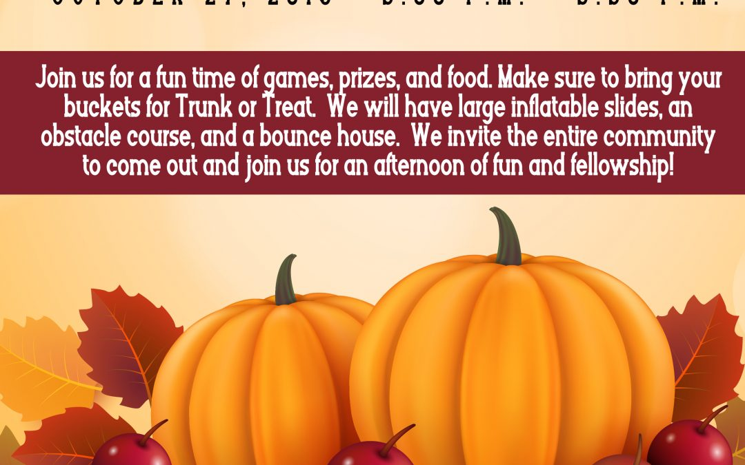 Trunk or Treat and Fall Festival