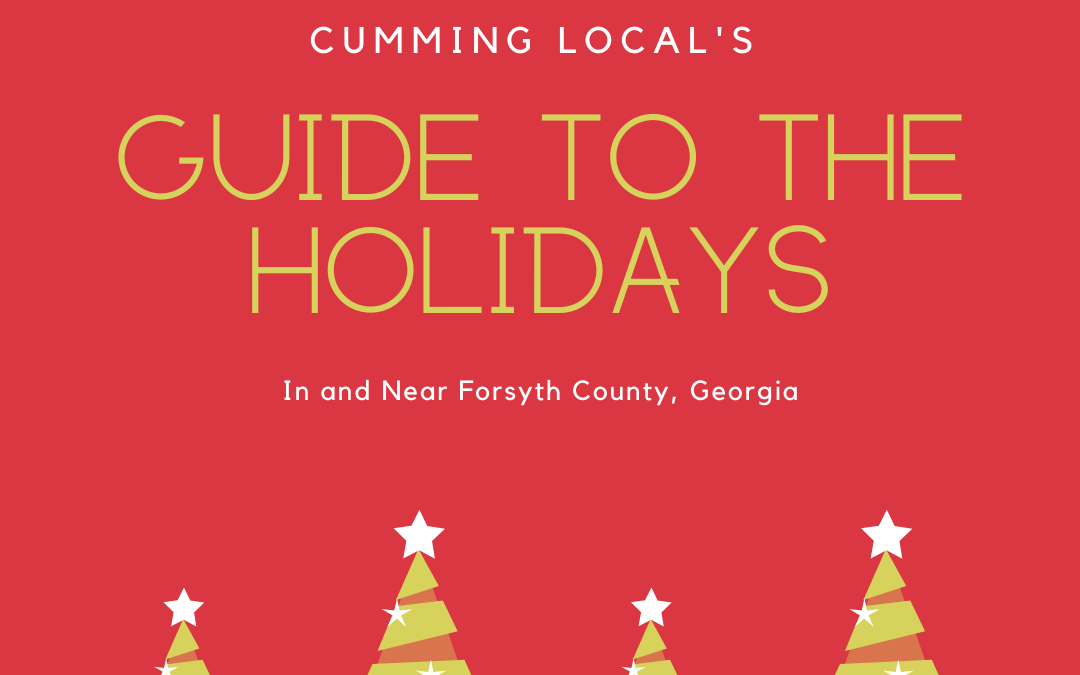Christmas Activities Cumming GA & Forsyth County {2020}
