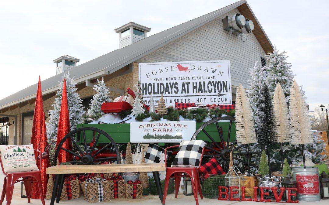 Halcyon Holiday Celebration and Santa Arrival