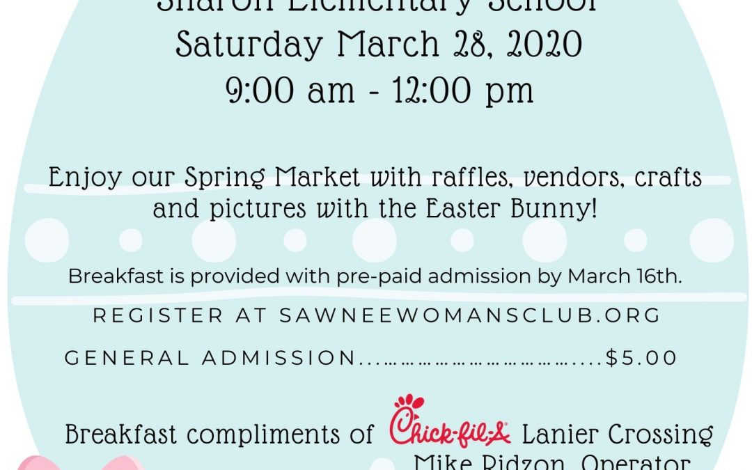 Breakfast with the Easter Bunny & Spring Market
