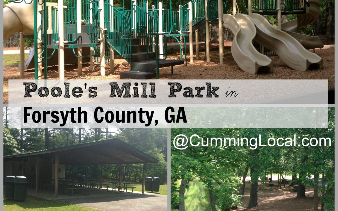 New Playground Installation Underway At Poole's Mill Park