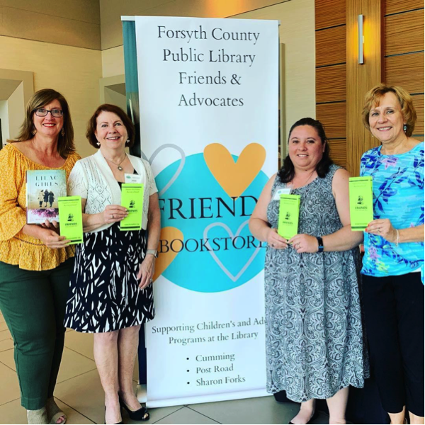 Local Volunteers Receive Fabulous Friends Award For Service To Library
