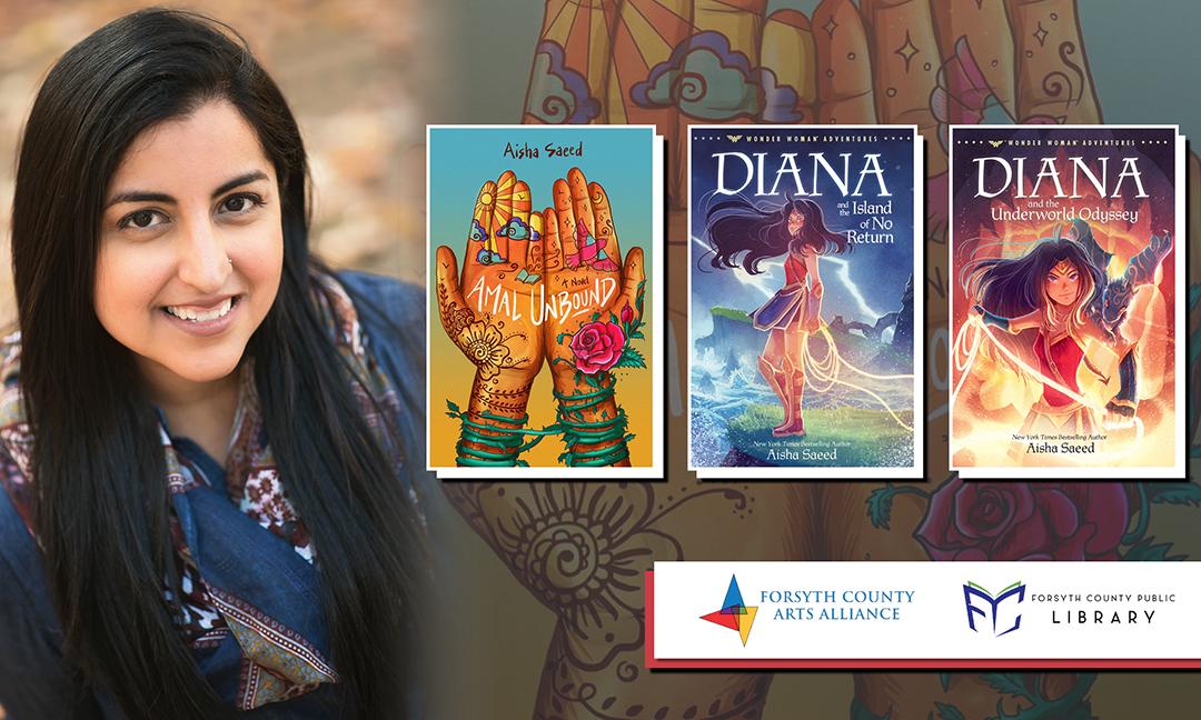 Virtual Author Visit with Aisha Saeed Author Talk for Grades 4-8